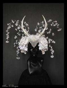 MADE TO ORDER Winter Wonderland Headdress with by MissGDesignsShop, $450.00