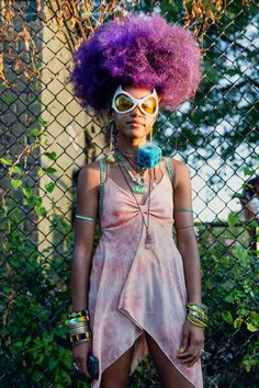 Afropunk 2015 Music Festival Street Style Pictures