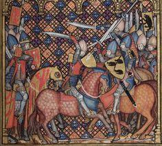Romance of Alexander, Flanders, 1338-44