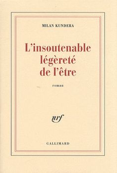 The Unbearable Lightness of Being Great Books To Read, Got Books, Classic Literature, Classic Books, Reading Lists, Book Lists, Milan Kundera, Lectures, Tumblr