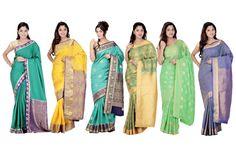 Special Designed #Kanjivaram/Silk/Crepe #Sarees For This #Dasara Festival...!! #FestivalSareesOnline #DasaraSpecial #SilkSareesAtLowestPrice #SareesAtLowestPrice ✦ Free Shipping ✦