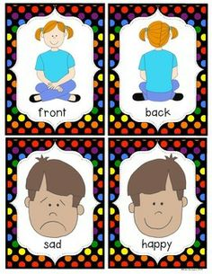 Kindergarten antonym worksheet opposite words verbs opposite oppositesantonyms sorting cards for kindergarten and first grade m4hsunfo