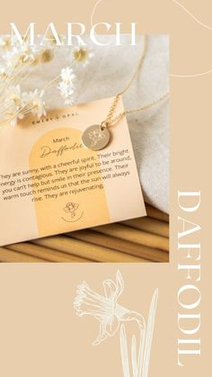 March Birth Flower, Daffodil, Daffodil Flower, March Birthday, March Birthday Gift, Gift for Best Friend, Meaningful Jewelry, Meaningful Necklace, Floral Jewelry, Floral Necklace, Floral Design, Flower Power, Stamped Jewelry, Dainty, Feminine, Spring Jewelry, Spring Fashion, Spring Look, Spring Trends, Spring 2021, Spring Flowers, Spring Has Sprung, Emery and Opal, Etsy Jewelry, Handmade Jewelry, Flower Sketches, Flower Art Etsy Jewelry, Custom Jewelry, Handmade Jewelry, Daffodil Flower, Flower Art, March Birth Flowers, Meaningful Necklace, Flower Sketches, Floral Necklace
