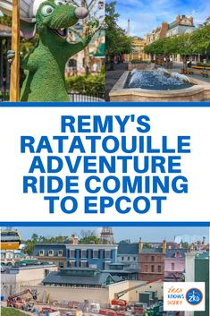 Find out about Remy's Ratatouille Adventure in Epcot! This exciting new attraction will be a family favorite for all fans of the beloved Disney movie! Read here for all the latest details. Disney World Usa, Disney World Shows, Disney World Secrets, Disney World Rides, Disney World Florida, Disney World Tips And Tricks, Disney World Vacation Planning, Walt Disney World Vacations, Disney Travel