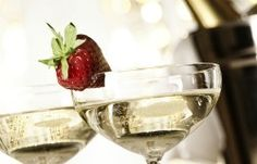 Strawberry and Champagne!