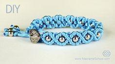 DIY Easy Wave Bracelet with Satin Cord « Jewelry
