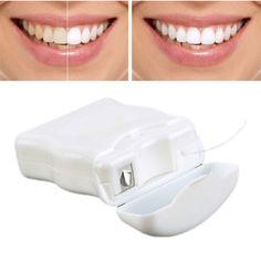 new Dental 50 m Interdental Brush Teeth Clean Dental Floss Stick Toothpick Flosser Teeth Flosser Tooth Clean Plastic Stick