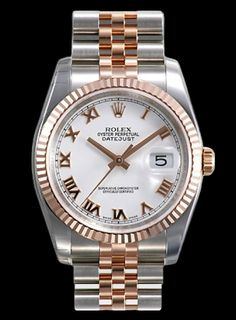#Rolex #Datejust 116231 - With white roman dial and jubilee bracelet #swisswatchdealers