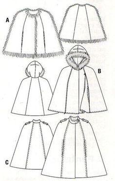 comment coudre un manteau cape