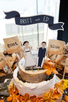 Wedding cakes made of real cheese -- hmmm I think I like the cake toppers