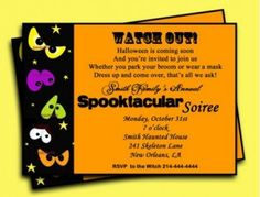 Party: Halloween Party Invitation Wording As Your Chosen Remarkable Party Invitation Media 1