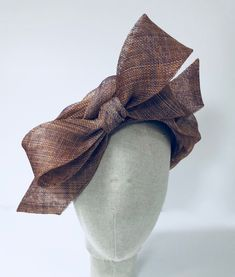 Items similar to Beautiful Bronze Turbanette with Large Bow 0e7daf9a1c9c2