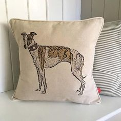 Whippet Feature Cushion