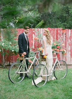 wedding bikes