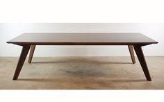 solid walnut dining table yallingup