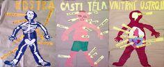 Člověk - 2. třída Human Body, Ronald Mcdonald, School, Fictional Characters, Art, Tela, Art Background, Kunst, Performing Arts