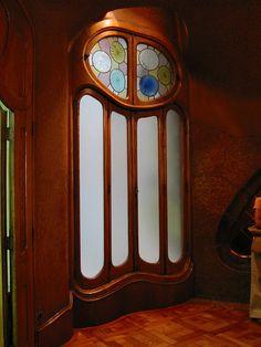 Gaudi Doors & Window by Girl Least Likely To, via Flickr
