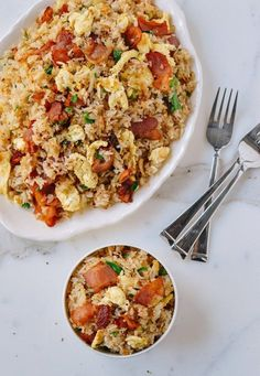Recipe: Bacon and Egg Fried Rice