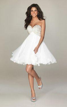 vestido blanco corto short dress (14)