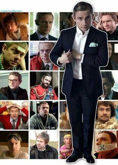 Martin Freeman // NO HEDGEHOG???