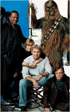 Stars of Star Wars - 30 years later
