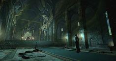 artstation throne room fantasy dark redcliffe castle concept final mckenzie boyd artwork painting soldier