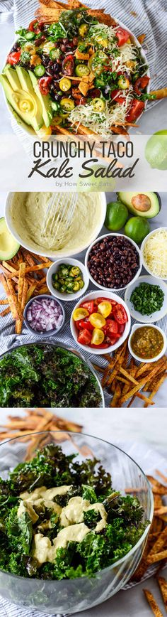 Crunchy taco salad