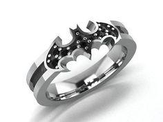 Batman Engagement Rings
