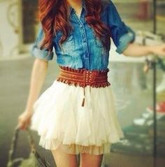 Teen Cowgirl Outfit! I like this but I wish the skirt was longer