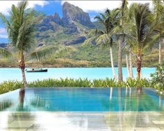 Four Seasons Bora Bora. Want to be there right now.