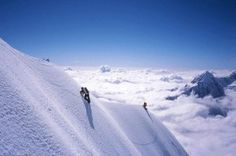 Climbing the K2 peak, 2nd highest peak in the world and clearly the hardest