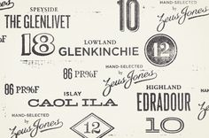 The Design Repository of Brad Surcey in Typography