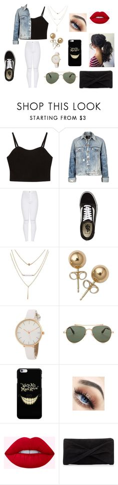 """""""girls day out"""" by paigesharp12 on Polyvore featuring R13, Vans, Bling Jewelry, Givenchy and Reiss"""