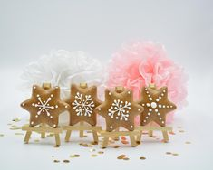 Lebkuchen Stern Place Cards, Place Card Holders, Desserts, Ginger Beard, Honey, Stars, Christmas, Tailgate Desserts, Deserts