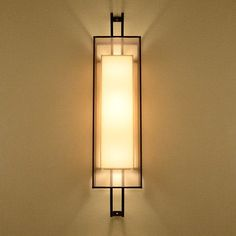 Gorgeous Rectangular Wall Sconce/Light.                                                                                                                                                                                 More