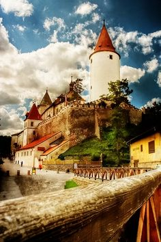101 Most Beautiful Places You Must Visit Before You Die! part Krivoklat Castle, Prague Beautiful Castles, Beautiful Places, Amazing Places, Beautiful Buildings, Places To Travel, Places To See, Travel Destinations, Places Around The World, Around The Worlds