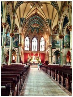 St. John the Baptist Catholic Church in Savannah, Georgia