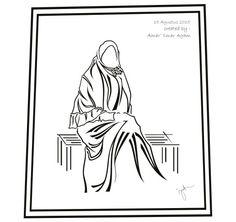 Hijab vector 7