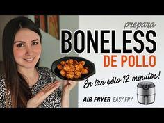 Cómo hacer BONELESS bien jugosos en #AirFryer   Chicken Nuggets Recipe   Receta Fácil - YouTube Chicken Nugget Recipes, Chicken Nuggets, Nuggets Recipe, Bon Appetit, Dog Food Recipes, Fries, Breakfast, Easy, Youtube