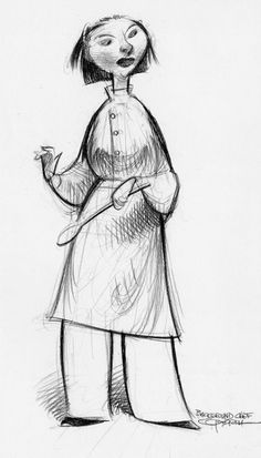 animationandsoforth:  Ratatouille character designs by Carter...
