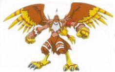Garudamon - biyomon (Sora)