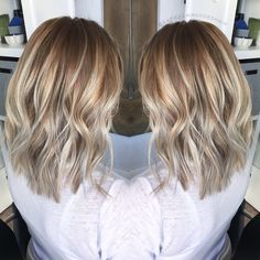 Bronde // balayage // rooty blonde // lived in color // platinum