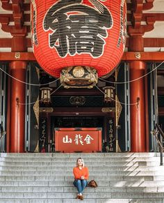 326 Likes, 7 Comments - Allison Solo Travel, Temple, Tokyo, The Past, Solo Trip, Japan, Photo And Video, Lifestyle, My Favorite Things