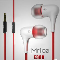 Original Mrice E300 Earphone 3.5mm Jack In Ear Earbud -2 Colors