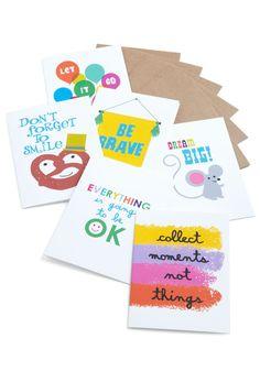 Nice Advice Notecard Set - Multi, Novelty Print >> like