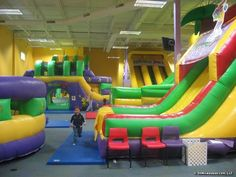 """100 things for kids to do in Milwaukee - I *highly* recommend """"Kids in Motion!""""  Two adults, one younger child and two tweens spent a couple hours there and they only charged us $10 for the you her child. There was a lot to do, optional laser tag, and refreshments available."""