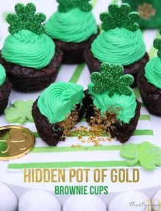 Hidden Pot of Gold from Pizzarie featured in the Thirty-One:10 17 Delicious St. Patrick's Day Treats