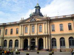 nobelmuseet- Nobel Museum honors the recipients of the Nobel prizes