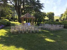 Beautiful Wedding ceremony at Kentisbury Grange