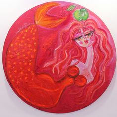 #happy_valentine_day  #حواء والتفاحة الخضراء  #mixedmedia  #size 120cm  #عيد_الحب #سرى_الخفاجي  #محبة #eve #greenapple  #art #iraqiart  #iraqiartist  #apple #artwork  #baghdad  #artist #dubai #usa #uae #ksa #uk #gallery #love #red #fashion